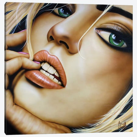 Born This Way Canvas Print #SCR8} by Scott Rohlfs Canvas Wall Art