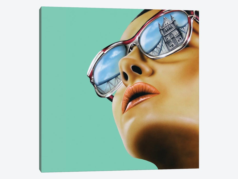 Anywhere But Home by Scott Rohlfs 1-piece Canvas Art Print