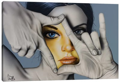 In Living Color by Scott Rohlfs Canvas Art Print