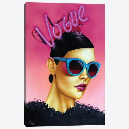 In Vogue Canvas Print #SCR96} by Scott Rohlfs Canvas Print