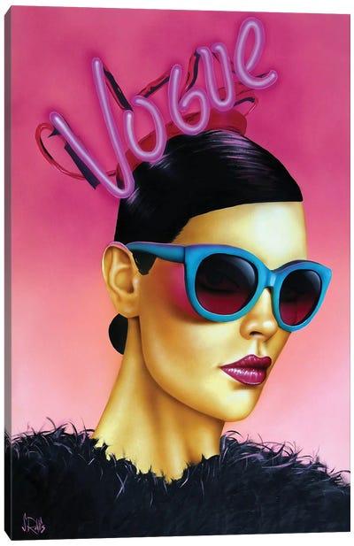 In Vogue Canvas Art Print