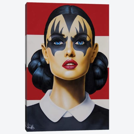 Kiss And Tell Canvas Print #SCR97} by Scott Rohlfs Canvas Art Print