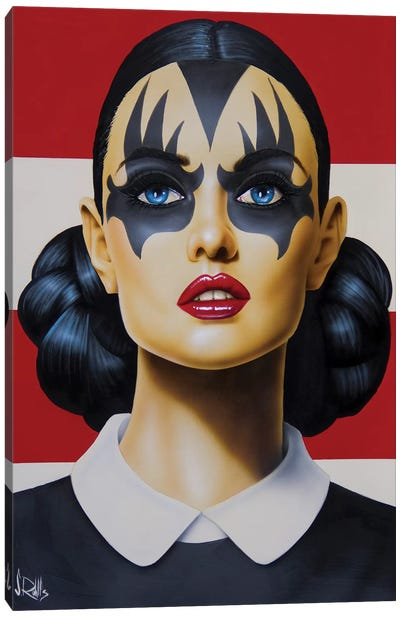 Kiss And Tell Canvas Art Print