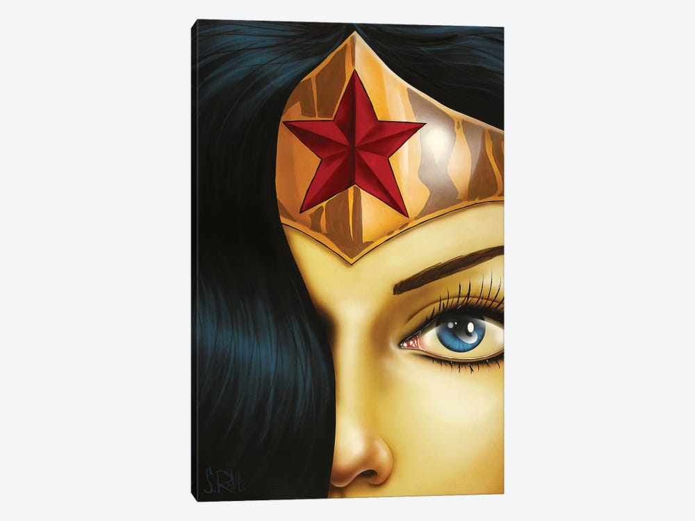 Mrs. Wonderful by Scott Rohlfs 1-piece Canvas Print