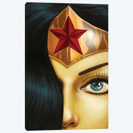 Mrs. Wonderful Canvas Print #SCR98} by Scott Rohlfs Canvas Wall Art