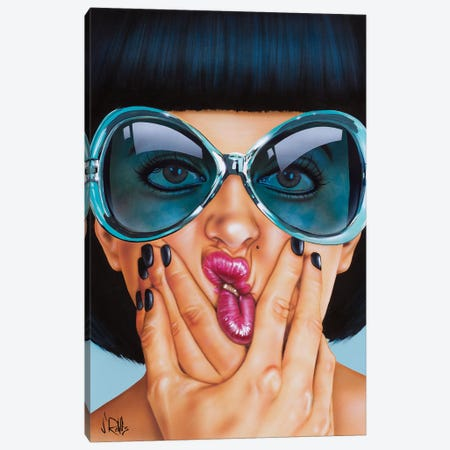 One For The Money Canvas Print #SCR99} by Scott Rohlfs Canvas Art