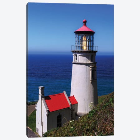 Heceta Head Lighthouse Canvas Print #SCS2} by Shawn & Corinne Severn Canvas Print