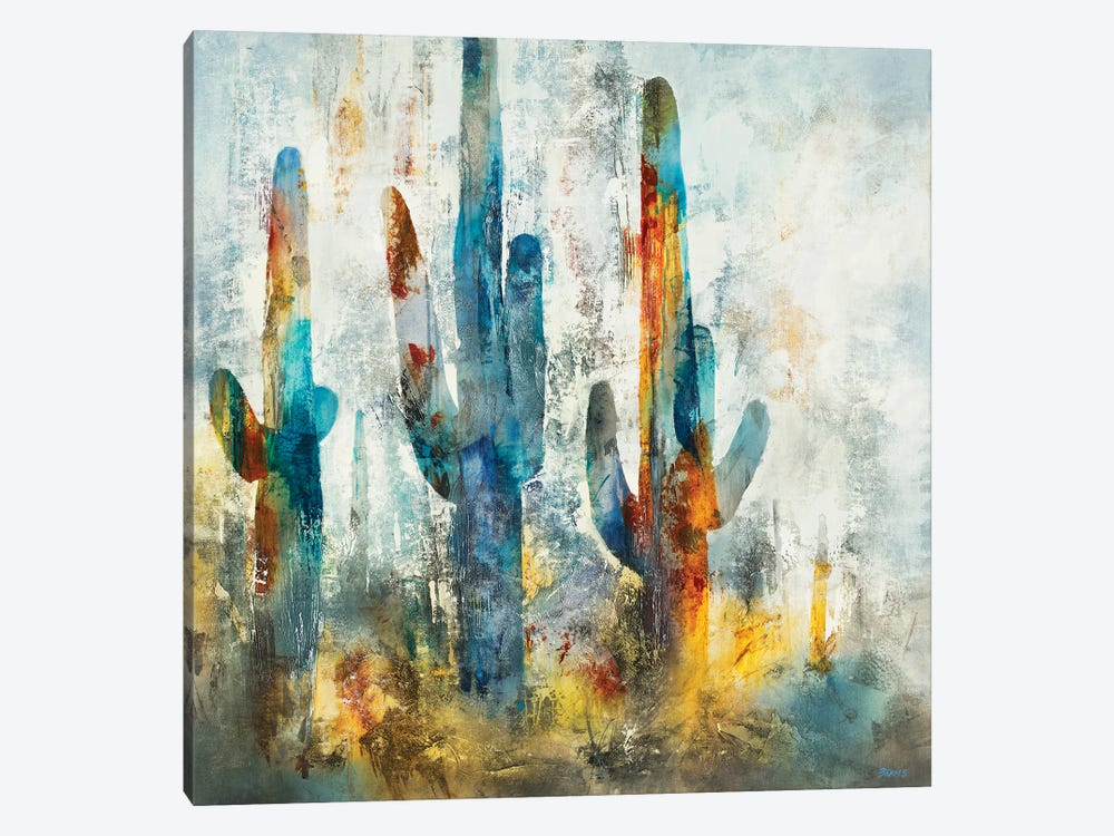 Saguaro Forest by Scott Brems 1-piece Art Print