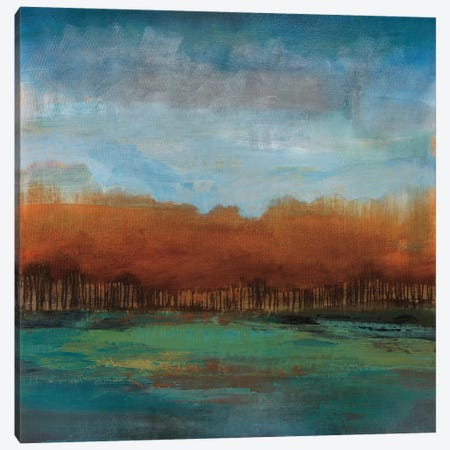 Traveling to the Edge Canvas Print #SDA11} by Stacy DAguiar Canvas Art