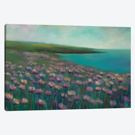 Seaside Sanctuary Canvas Print #SDA8} by Stacy DAguiar Canvas Print