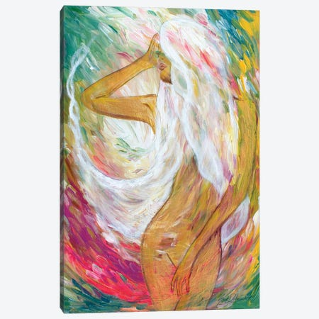 Show Up To Your Soul With Rhythm Canvas Print #SDD11} by Sarah Dalesandro Canvas Print