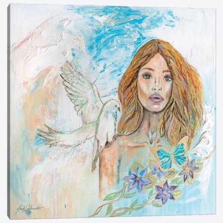 Spirit Of The Dove Canvas Print #SDD13} by Sarah Dalesandro Canvas Art Print