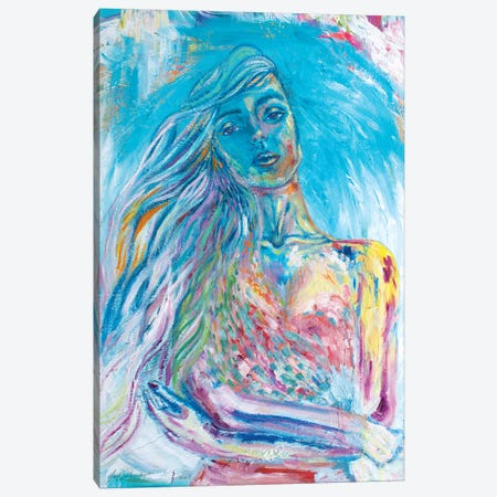Unraveling The Beauty Within Canvas Print #SDD15} by Sarah Dalesandro Canvas Art
