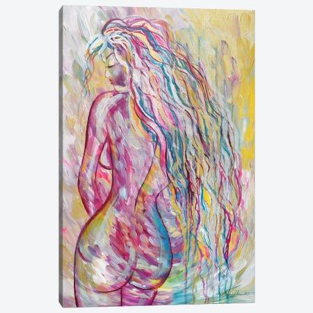Always A Dreamer Canvas Print #SDD16} by Sarah Dalesandro Canvas Wall Art