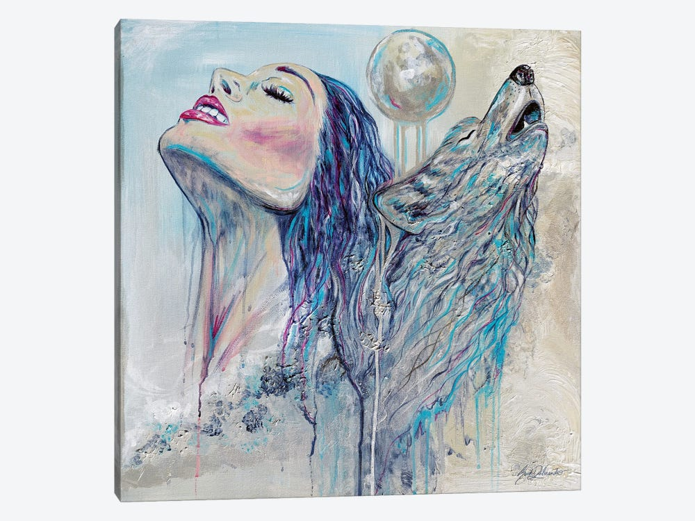 With Your Whole Heart by Sarah Dalesandro 1-piece Art Print