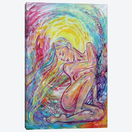 Down Shone The Sun Canvas Print #SDD27} by Sarah Dalesandro Canvas Art Print