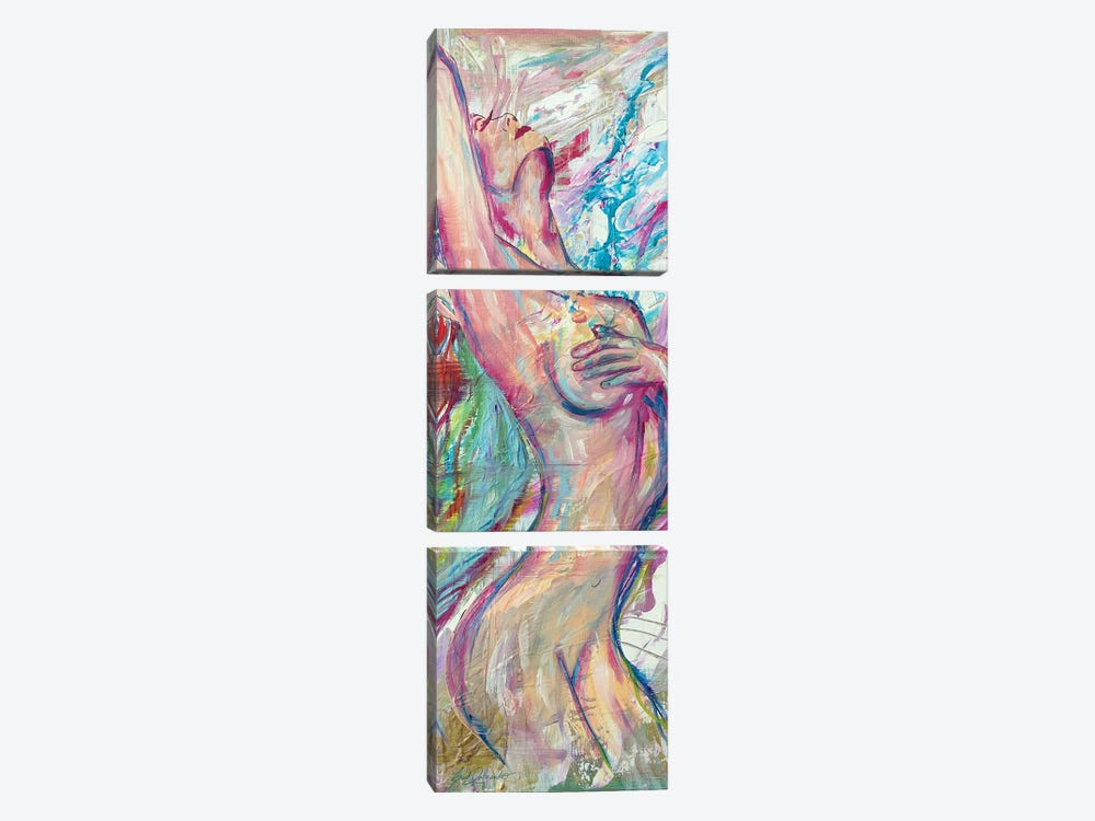 Reach For The Stars by Sarah Dalesandro 3-piece Canvas Art
