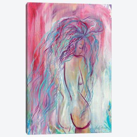 Braving To Be Pretty Canvas Print #SDD31} by Sarah Dalesandro Canvas Art Print