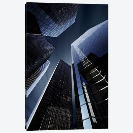 Wall Street Canvas Print #SDG109} by Sebastien Del Grosso Canvas Art