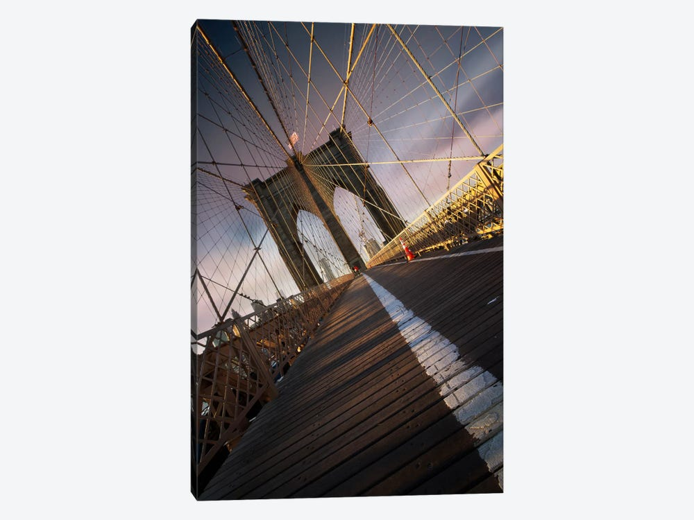 Brooklyn Bridge Web by Sebastien Del Grosso 1-piece Canvas Artwork