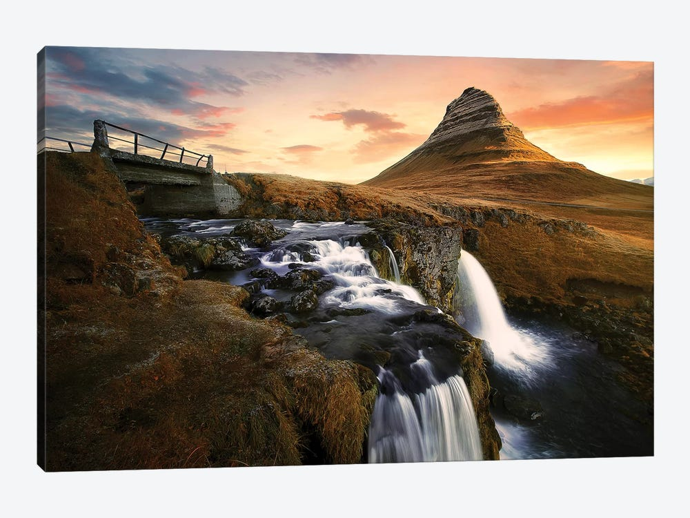Icelandic Icon by Sebastien Del Grosso 1-piece Canvas Wall Art