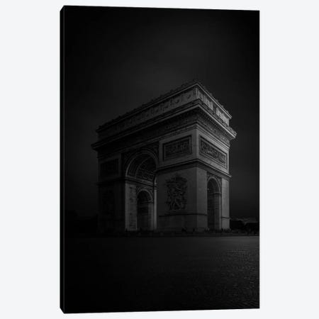 Arc de Triomphe Canvas Print #SDG117} by Sebastien Del Grosso Canvas Artwork