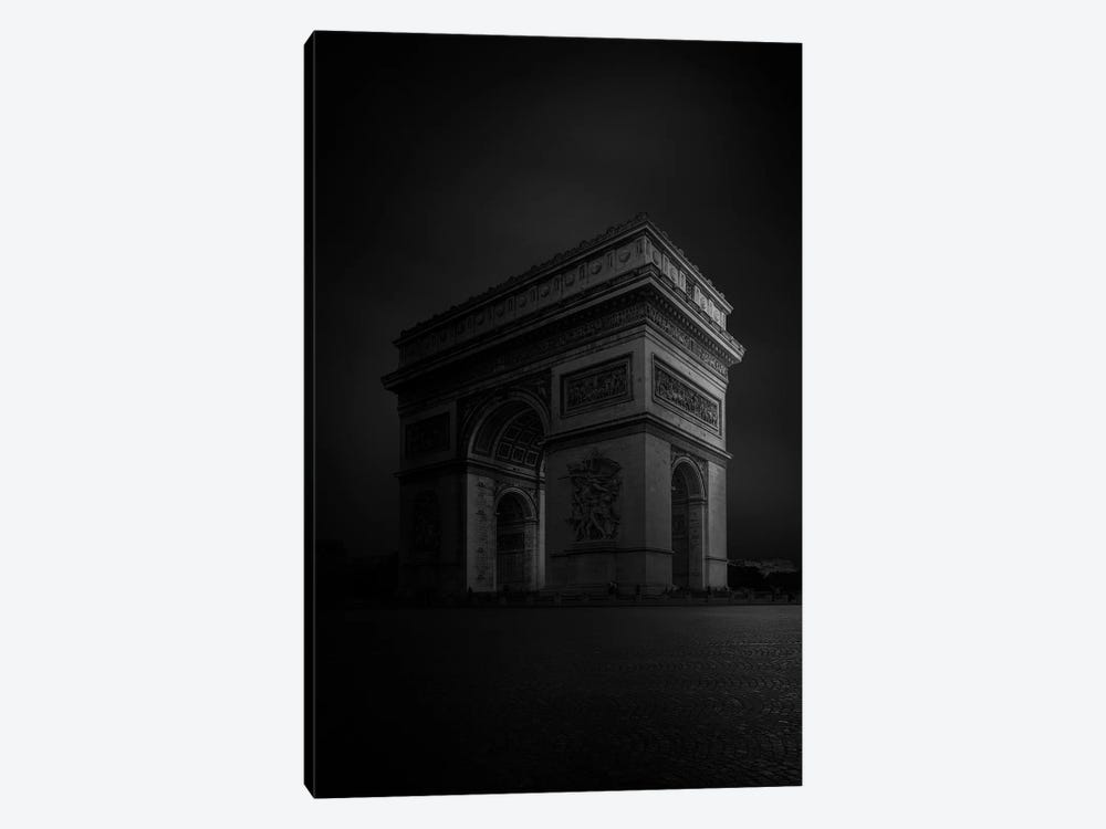 Arc de Triomphe 1-piece Canvas Art Print