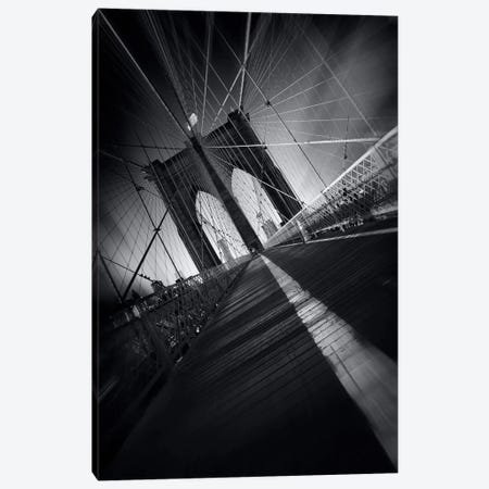 Brooklyn Bridge Webb #2 Canvas Print #SDG11} by Sebastien Del Grosso Canvas Art