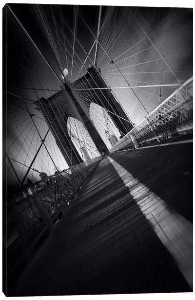 Brooklyn Bridge Webb #2 Canvas Art Print
