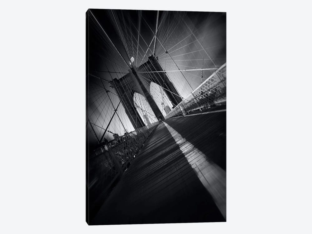 Brooklyn Bridge Webb #2 by Sebastien Del Grosso 1-piece Canvas Art Print
