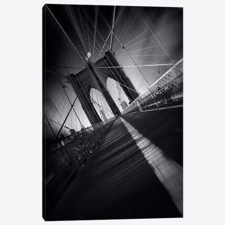Brooklyn Bridge Webb #2 Canvas Print #SDG11} by Sebastien Del Grosso Canvas Art