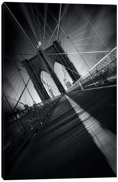 Brooklyn Bridge Webb #2 Canvas Art Print
