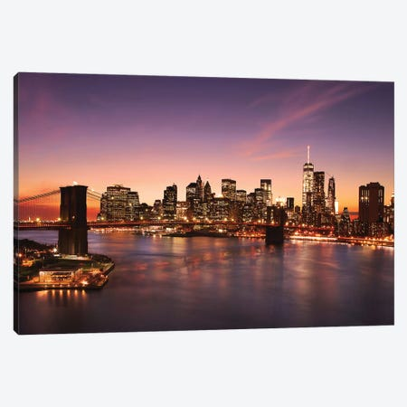 Brooklyn Bridge II Canvas Print #SDG120} by Sebastien Del Grosso Canvas Art