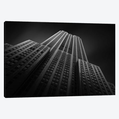 Empire State Building II 3-Piece Canvas #SDG124} by Sebastien Del Grosso Canvas Art Print
