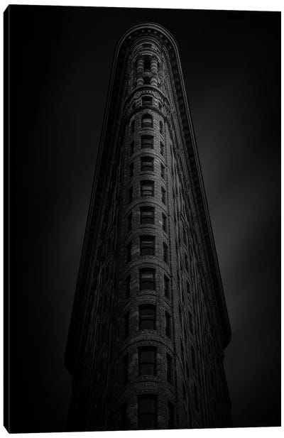 Flatiron Building Canvas Art Print