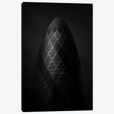 Gherkin Tower Canvas Print #SDG126} by Sebastien Del Grosso Canvas Print