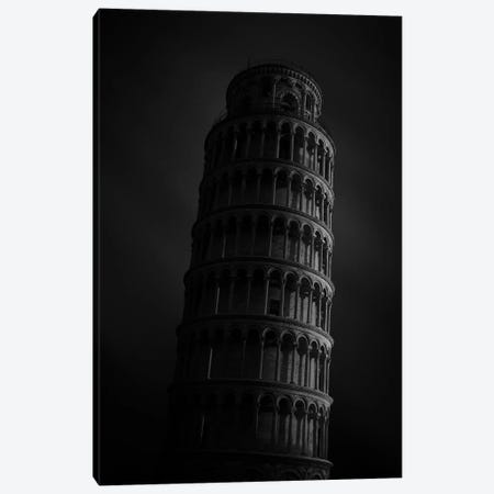 La Tour de Pise Canvas Print #SDG129} by Sebastien Del Grosso Canvas Artwork