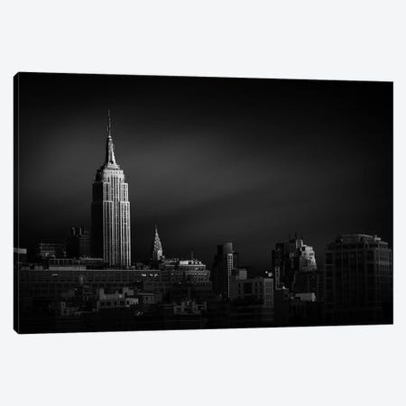 New York Skyline 3-Piece Canvas #SDG135} by Sebastien Del Grosso Canvas Wall Art