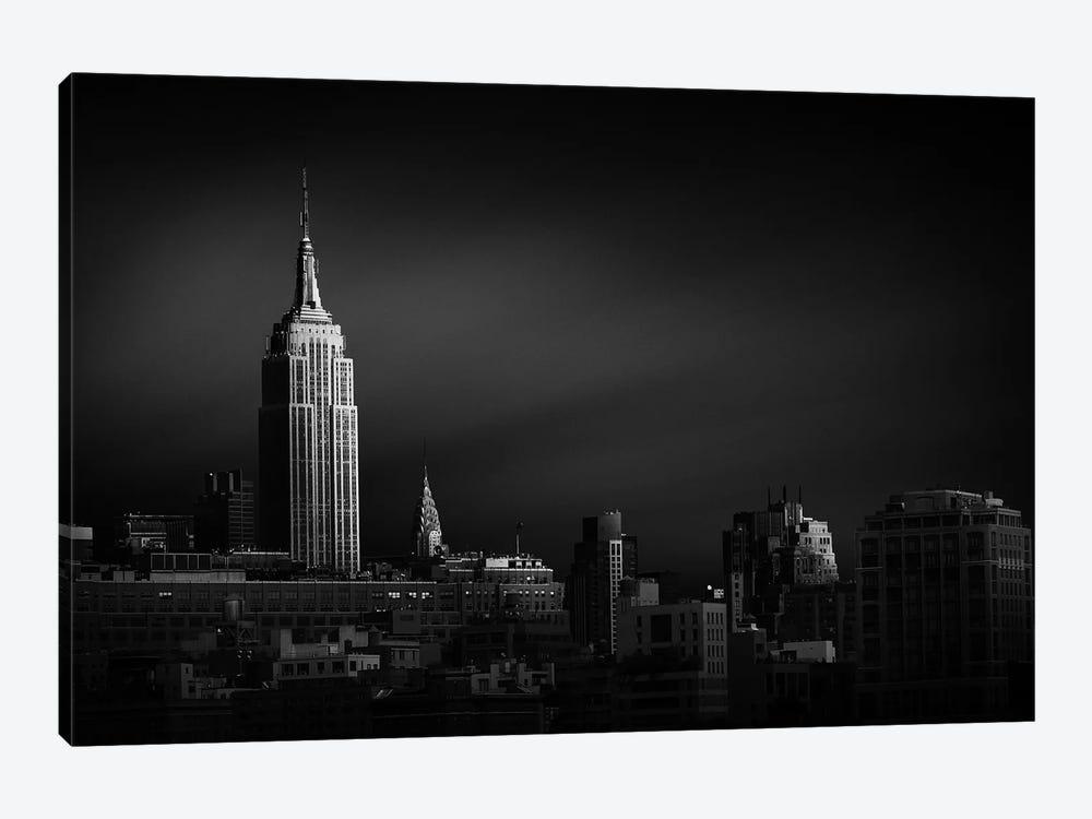New York Skyline by Sebastien Del Grosso 1-piece Canvas Art Print