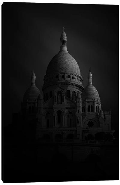 Sacre Coeur Canvas Art Print