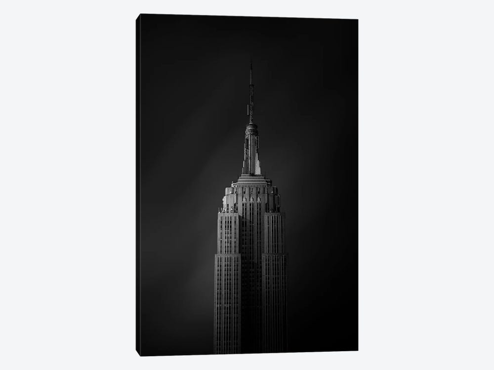 The Empire State Building by Sebastien Del Grosso 1-piece Canvas Artwork