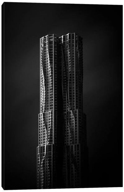 The Gehry Tower Canvas Art Print