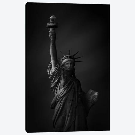 The Statue Of Liberty Canvas Print #SDG147} by Sebastien Del Grosso Art Print