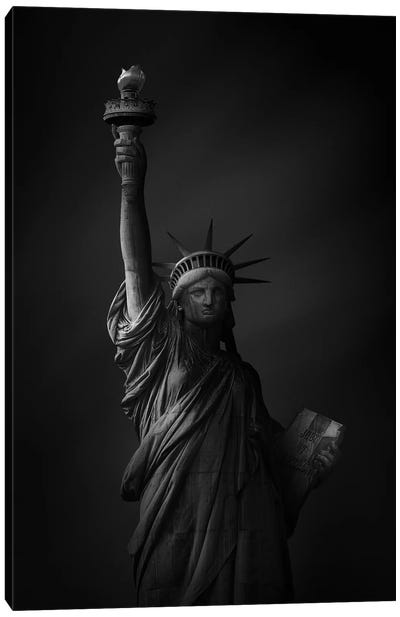 The Statue Of Liberty Canvas Art Print