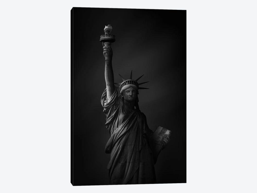 The Statue Of Liberty by Sebastien Del Grosso 1-piece Canvas Art