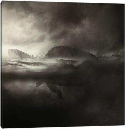 Guardian Of The Island Canvas Art Print