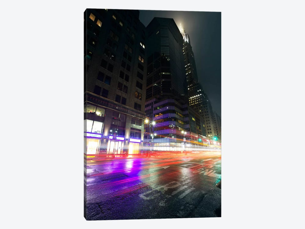 City Pulse by Sebastien Del Grosso 1-piece Art Print