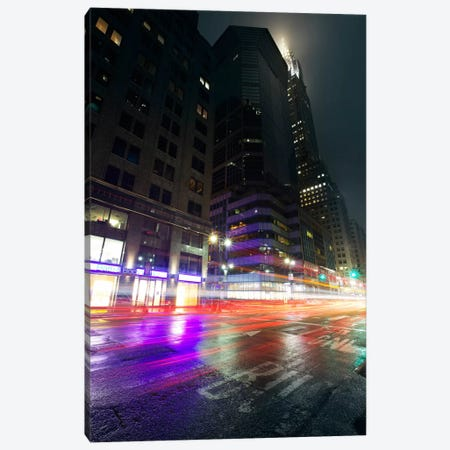 City Pulse Canvas Print #SDG17} by Sebastien Del Grosso Canvas Art Print