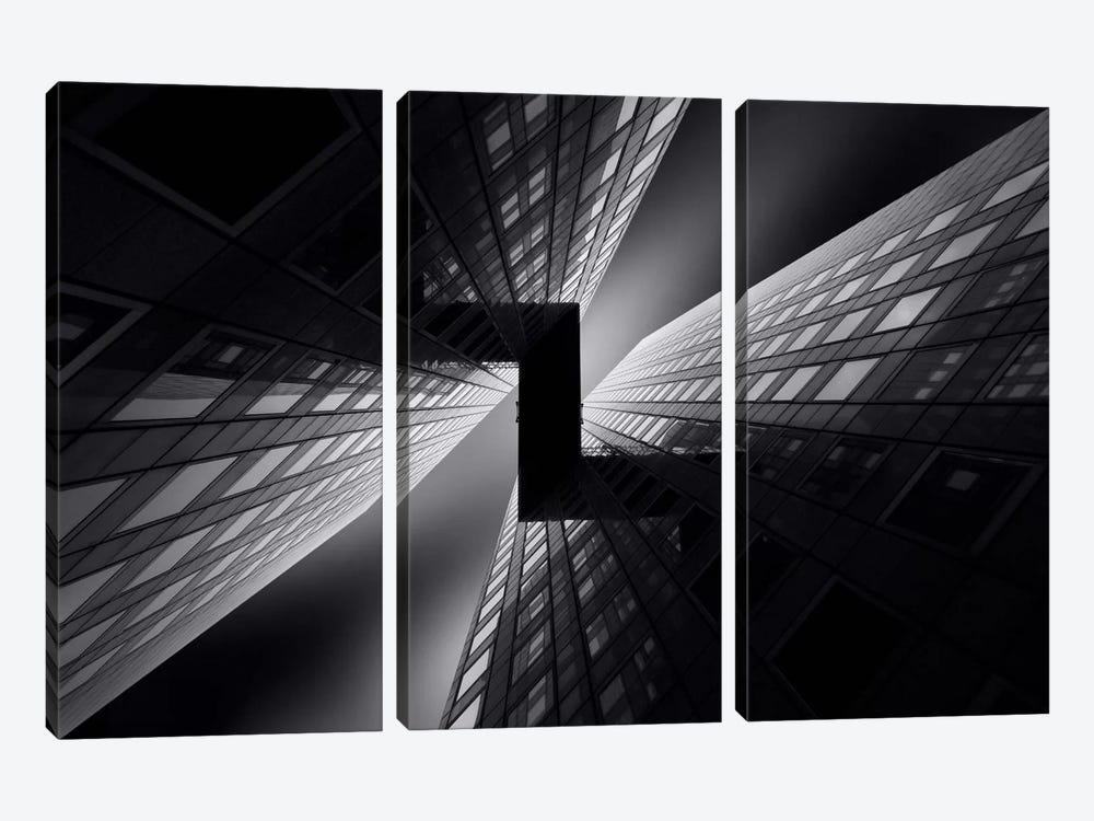 Connected by Sebastien Del Grosso 3-piece Canvas Wall Art