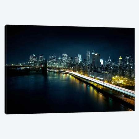 Gotham City II Canvas Print #SDG49} by Sebastien Del Grosso Art Print